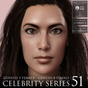 Celebrity Series 51 for Genesis 3 and Genesis 8 Female | Software | Design