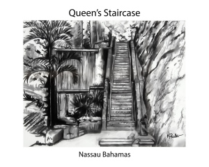 the queen's staircase 8x10