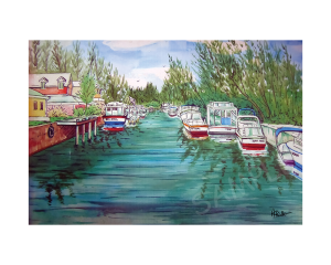 Coral Harbor Canal 16x20 | Photos and Images | Fine Art