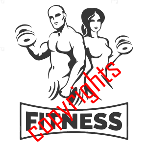 muscle and fitniss logo