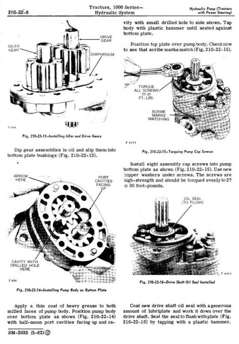 Fourth Additional product image for - John Deere 1010, 1010RS, 1010RU, 1010RUS, 1010O, 1010U, 1010R Tractors Technical Service Manual (sm2033)