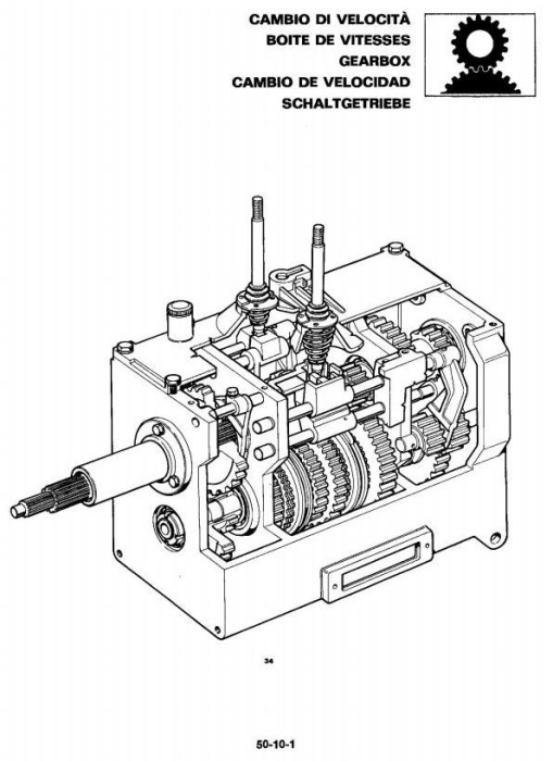 Third Additional product image for - John Deere 1445F, 1745F, 1845F, 2345F Tractors Technical Service Manual (tm4481)