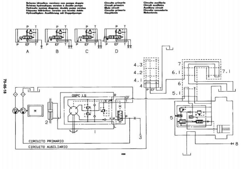 Fourth Additional product image for - John Deere 1445F, 1745F, 1845F, 2345F Tractors Technical Service Manual (tm4481)