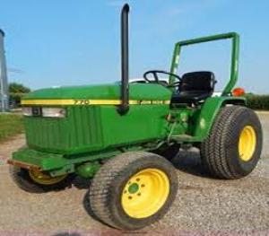 john deere 670, 770, 790, 870, 970, 1070 compact utility tractors technical service manual (tm1470)