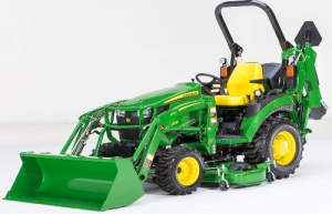 John Deere Compact Utility Tractor 2025R Technical Service Manual (TM127019) | Documents and Forms | Manuals