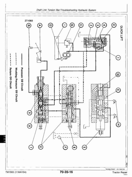 Third Additional product image for - John Deere 2000, 2100, 2200, 2300, 2400 Tractors Technical Service Manual (tm1563)