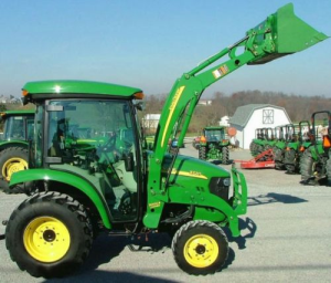 john deere compact utility tractors 3320, 3520, 3720 series w.cab technical service manual (tm2365)