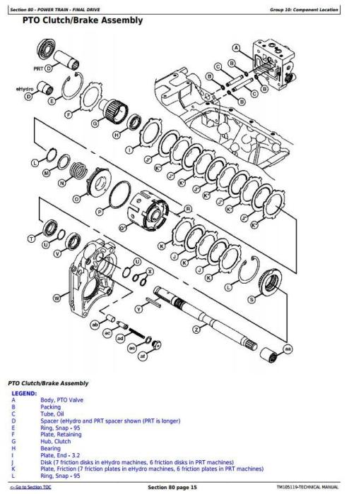 John Deere 4520, 4720 Compact Utility Tractors W/O Cab (SN
