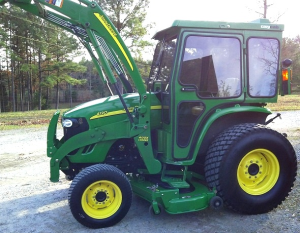 john deere 4120, 4320 compact utility tractors with cab (sn. 610001-) technical service manual (tm105319)