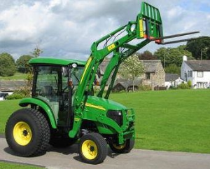 john deere 4520, 4720 compact utility tractors with cab (sn. 650001-) technical service manual (tm105419)