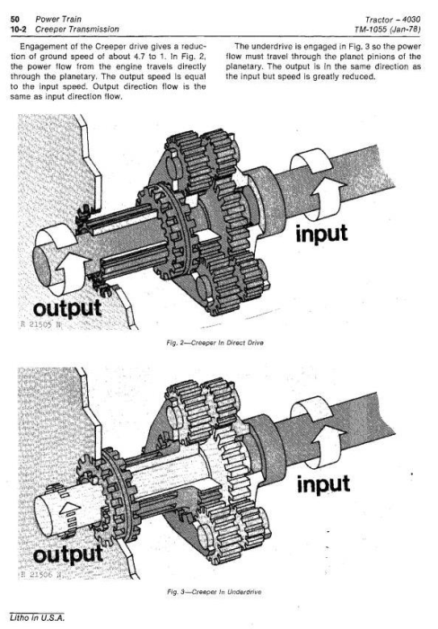 Fourth Additional product image for - John Deere 4030 Tractors All Inclusive Technical Service Manual (tm1055)