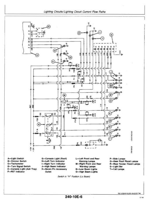 Second Additional product image for - John Deere 4055, 4255, 4455 Tractors Diagnosis and Tests Service Technical Manual (tm1459)