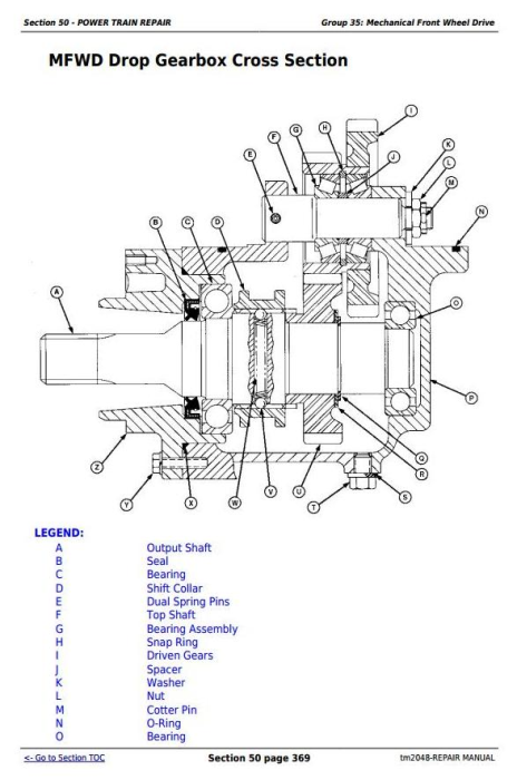 Fourth Additional product image for - John Deere Tractors 5220, 5320, 5420, and 5520 Service Repair Technical Manual (TM2048)