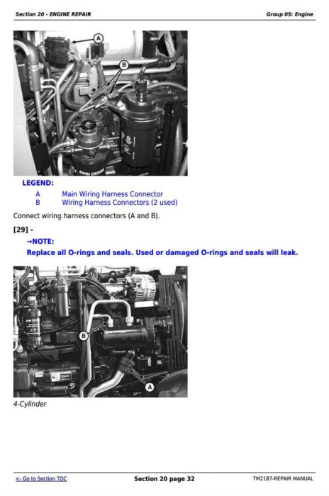 Second Additional product image for - John Deere Tractors 5225, 5325, 5425, 5525, 5625, 5603 Service Repair Technical Manual (TM2187)