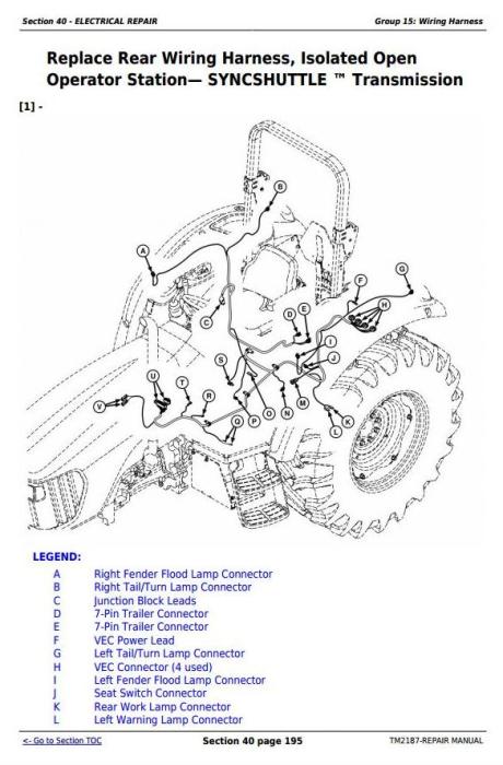 John Deere Tractors 5225, 5325, 5425, 5525, 5625, 5603