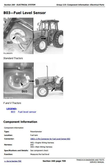 Fourth Additional product image for - John Deere Tractor 5080G, 5090G, 5090GH, 5080GV, 5090GV, 5100GV, 5080GF, 5090GF Diagnostic Manual TM402419