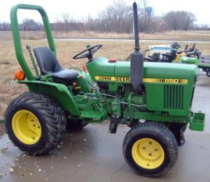 john deere tractors 550, 554, 5055b, 600, 604, 650, 654, 700, 704 china technical service manual tm701619