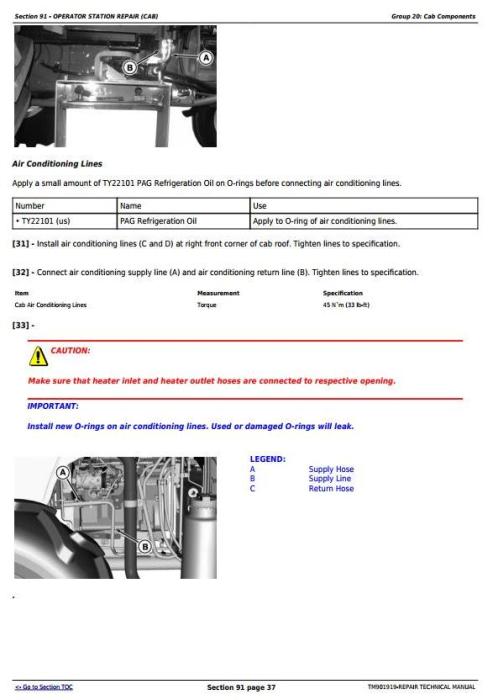 Fourth Additional product image for - John Deere 5055E, 5060E, 5065E & 5075E (Asia, India) Tractors Service Repair Manual (TM901919)
