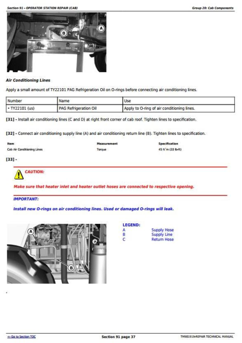 Fourth Additional product image for - John Deere 5055E, 5060E, 5065E & 5075E (Asia, India) Tractors Service Repair Manual (TM901919)