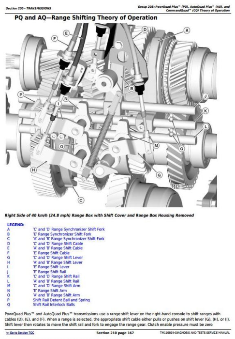 Second Additional product image for - John Deere 7200R, 7215R, 7230R, 7260R, 7280R Tractors Diagnosis and Tests Service Manual (TM110019)
