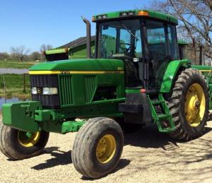 john deere 7210, 7410, and 7510 2wd or mfwd tractors service repair manual (tm1653)