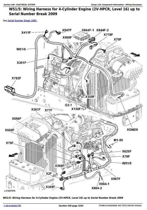 John Deere Tractors 6130,6230, 6330,6430, 6530, 6534, 6630