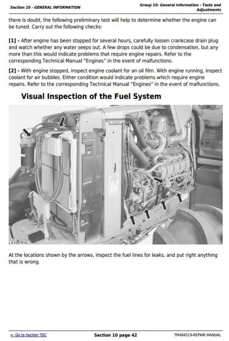 Fourth Additional product image for - John Deere Tractors 6105R, 6115R, 6125R, 6130R (Worldwide) Service Repair Technical Manual (TM404519)
