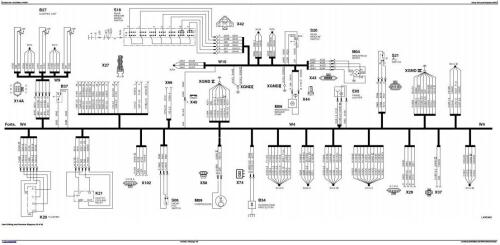 John Deere 6100, 6200, 6300, 6400 Early Tractors Electrics