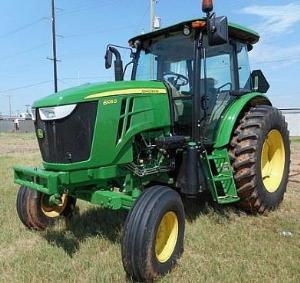 john deere tractor 6105d, 6115d, 6130d, 6140d (sn:050001-100000) service repair technical manual tm607219