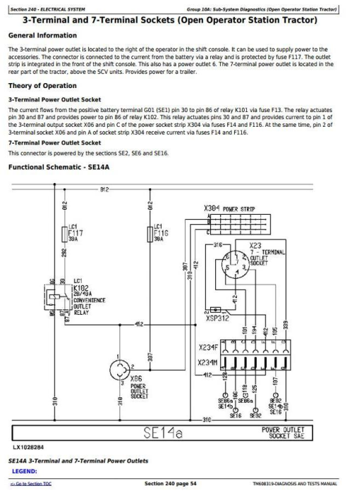 Second Additional product image for - John Deere 6425, 6425HC, 7425, 7425HC, 7525, 7525HC, 6155J, 6155JH Tractors Diagnostic Manual (TM608319)