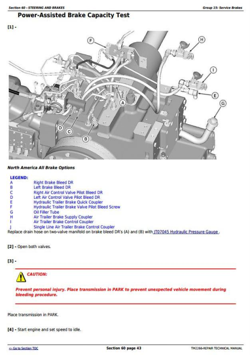 Fourth Additional product image for - John Deere 7630 7730 7830 7930 & 2204 2WD or MFWD Tractors Service Repair Manual (TM2266)