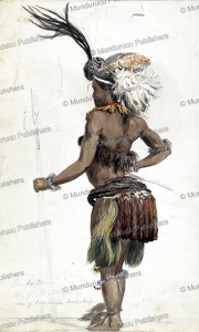unkotani, son of matlapi, one of cetawayo's head chiefs, zulu, george french angas, 1847