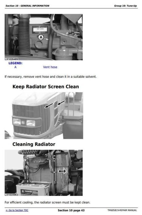 Fourth Additional product image for - John Deere 7425, 7525, 6140J, 6155J, 6155JH Tractors Service Repair Manual (TM605819)