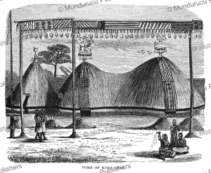 Tombs of king Ge´zu of Dahomey, J.A. Skertchly, 1874 | Photos and Images | Travel