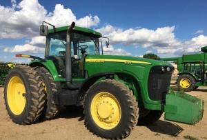 john deere 8120, 8220, 8320, 8420, 8520 tractors diagnostic, operation and test service manual (tm1980)