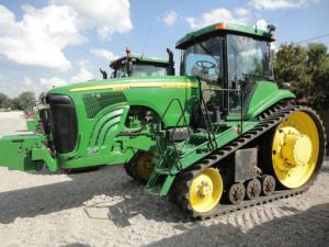 john deere 8120t, 8220t, 8320t, 8420t, 8520t tracks tractor operation & test service manual (tm1981)