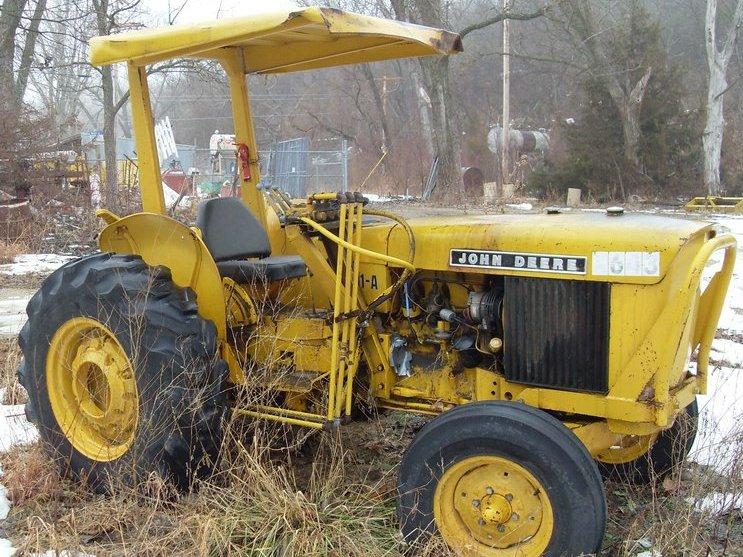 John Deere 301a Utility Construction Tractor  Loader