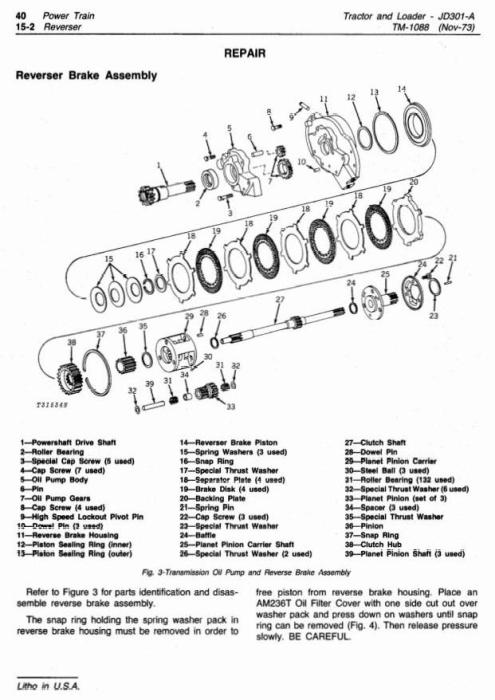 John Deere 301A Utility Construction Tractor, Loader