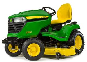 john deere x590 multi-terrain select series tractors (sn.100001-) technical service manual (tm136919)