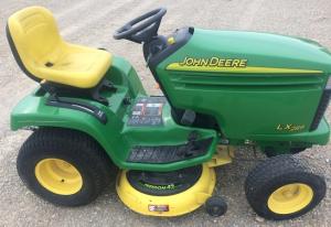 john deere lx280, lx280aws, lx289 (sn.100001-) lawn tractors technical service manual (tm2046)