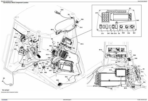 John Deere 325K (T2/S2) Backhoe Loader (SN:C219607-C234969