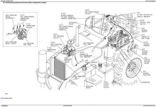 John Deere 300D, 310D Backhoe 315D Side Shift Loader