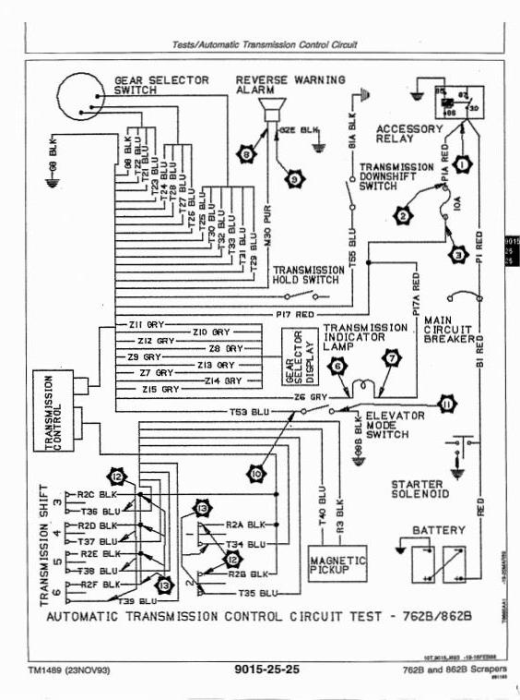 Second Additional product image for - John Deere 762B (SN.-791763), 862B (SN. -793082) Scrapers Diagnostic and Test Service manual (tm1489)