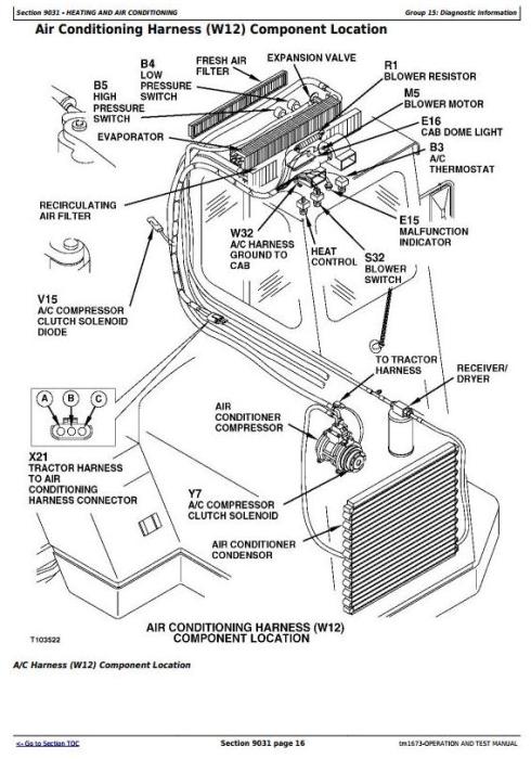 John Deere 762B Series II Scraper (SN. 818909-) Diagnostic