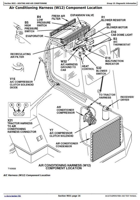 Third Additional product image for - John Deere 762B Series II Scraper (SN. 818909-) Diagnostic, Operation & Test Service manual (tm1673)