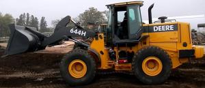 john deere 644h 4wd loader and 644h mh material handler service repair technical manual (tm1638)
