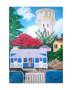fort hill water tower 11x14