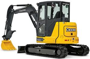 john deere 50g compact excavator w.ft4 engine (sn.h280001-) operate & maintenance manual (omt333114)