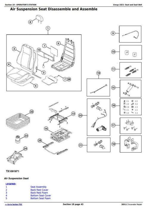 Third Additional product image for - John Deere 380GLC Excavator (PIN: 1FF380GX__E900001-) iT4/S3B Service Repair Manual (TM12566)