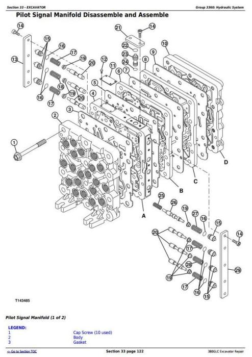 Fourth Additional product image for - John Deere 380GLC Excavator (PIN: 1FF380GX__E900001-) iT4/S3B Service Repair Manual (TM12566)